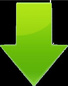 下矢印(緑)